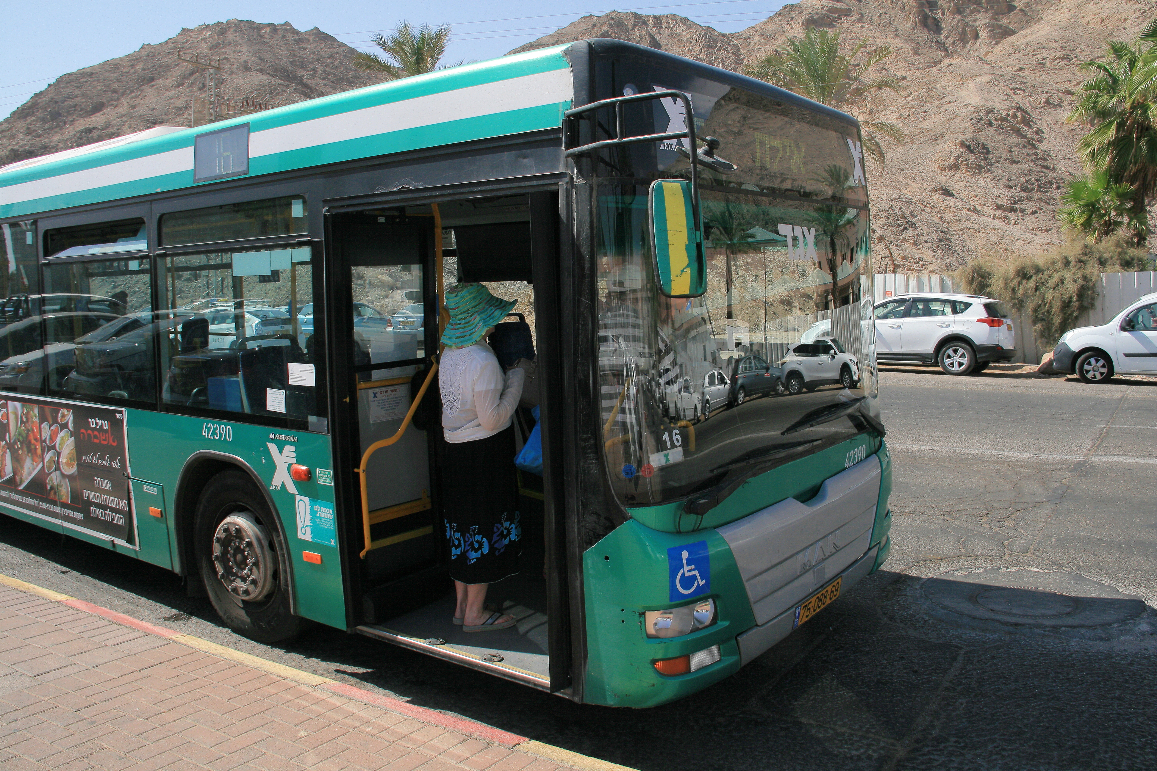 Shalom Shore egged bus