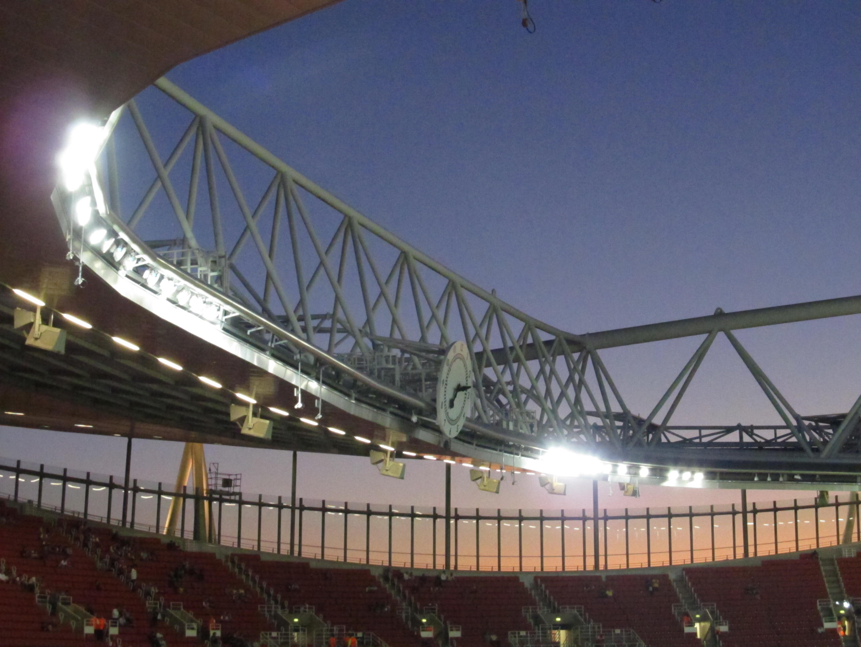 Emirates Stadium History File Emirates Stadium Clock