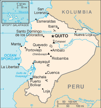 Equador CIA map PL.png