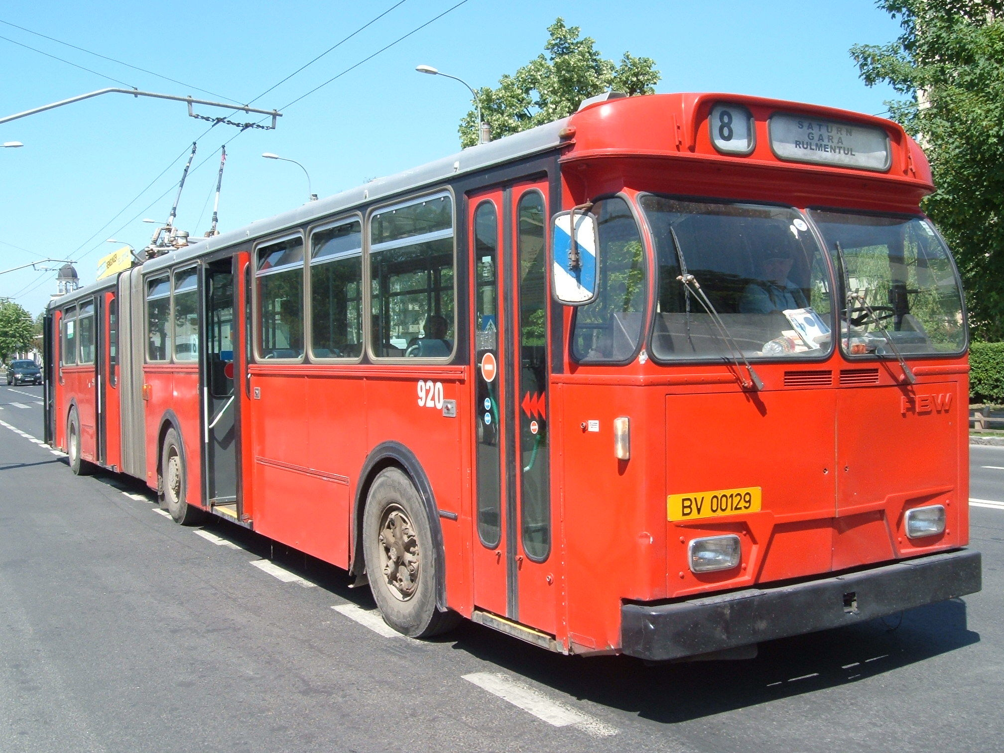 Ex-Basel FBW trolleybus 920 in Brasov in 2008.jpg