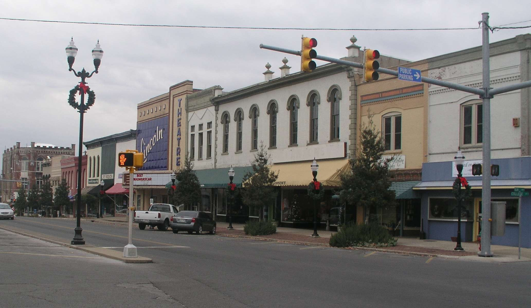 Fayetteville (TN) United States  city photos gallery : Fayetteville Tennessee square Wikimedia Commons