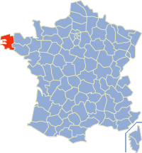 Communes of the Finistère department Wikimedia list article