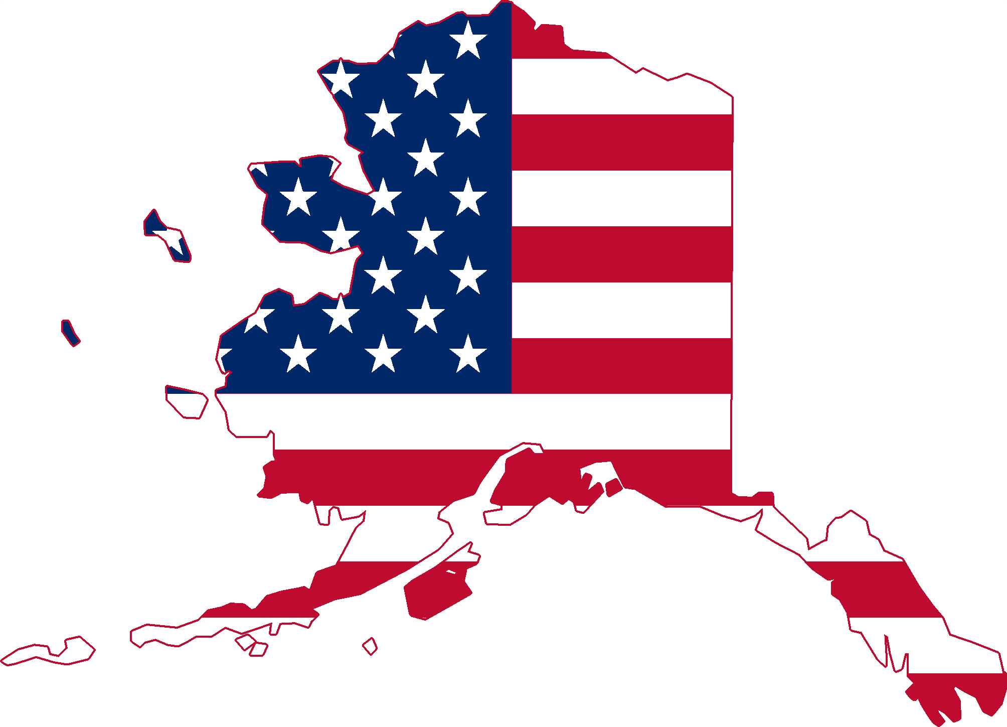 FileFlag Map Of Alaska USApng Wikimedia Commons - Alaska usa map
