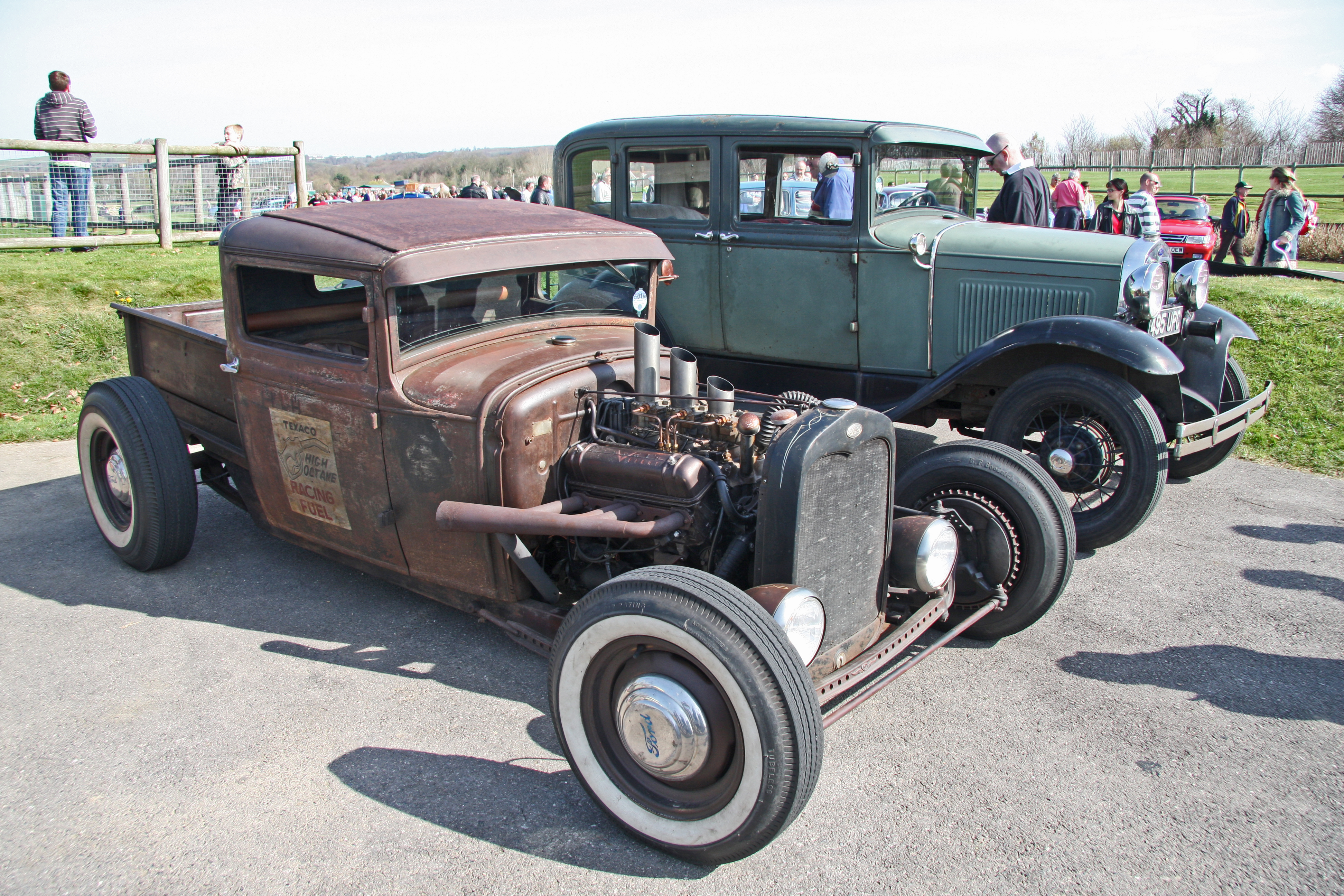 Hot Rod Ford Trucks