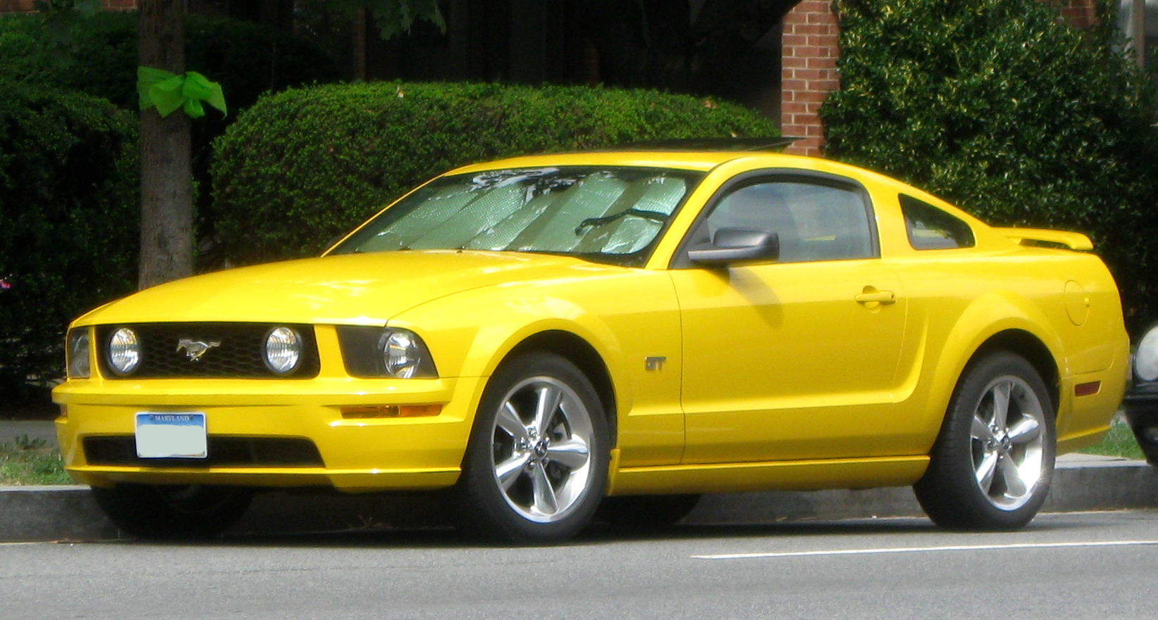 Description Ford Mustang GT coupe -- 07-30-2009.jpg