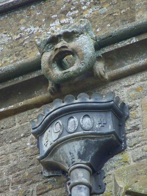 Gargoyle on the Church of St Nicholas in Henstridge, Somerset