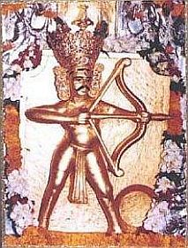 Image of deity