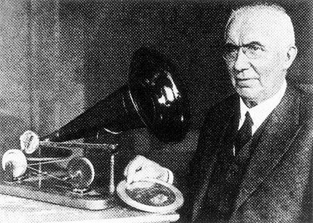 Emil Berliner - Grammophone made in Germany - Als Bausatz