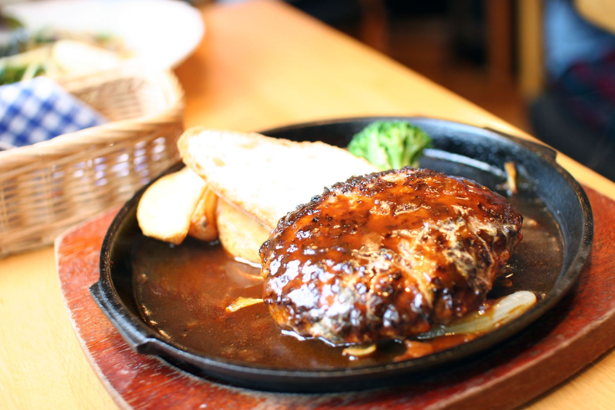 Hamburg steak - Wikipedia