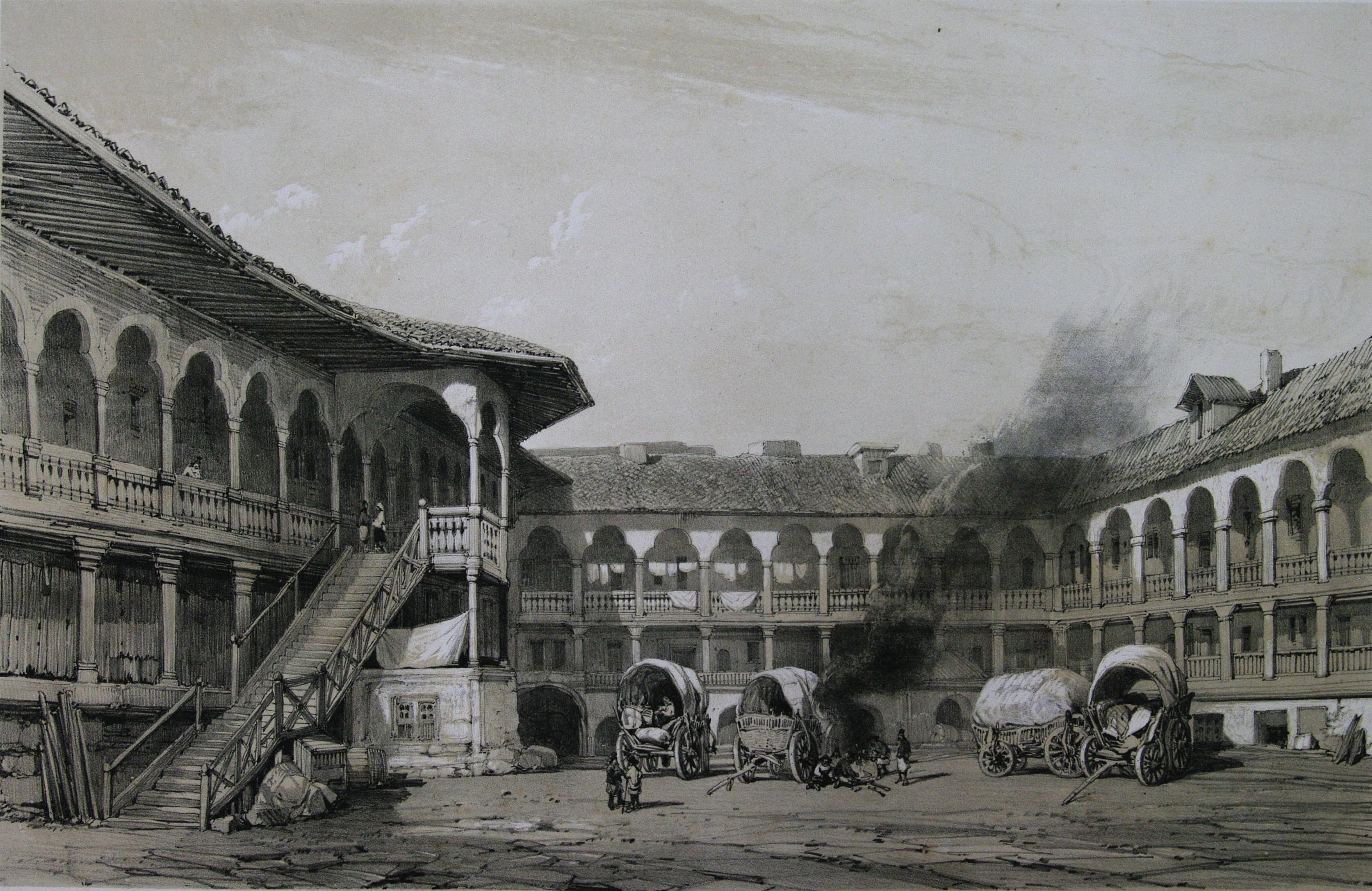 Fișier:Hanul lui Manuc, 1841.jpg