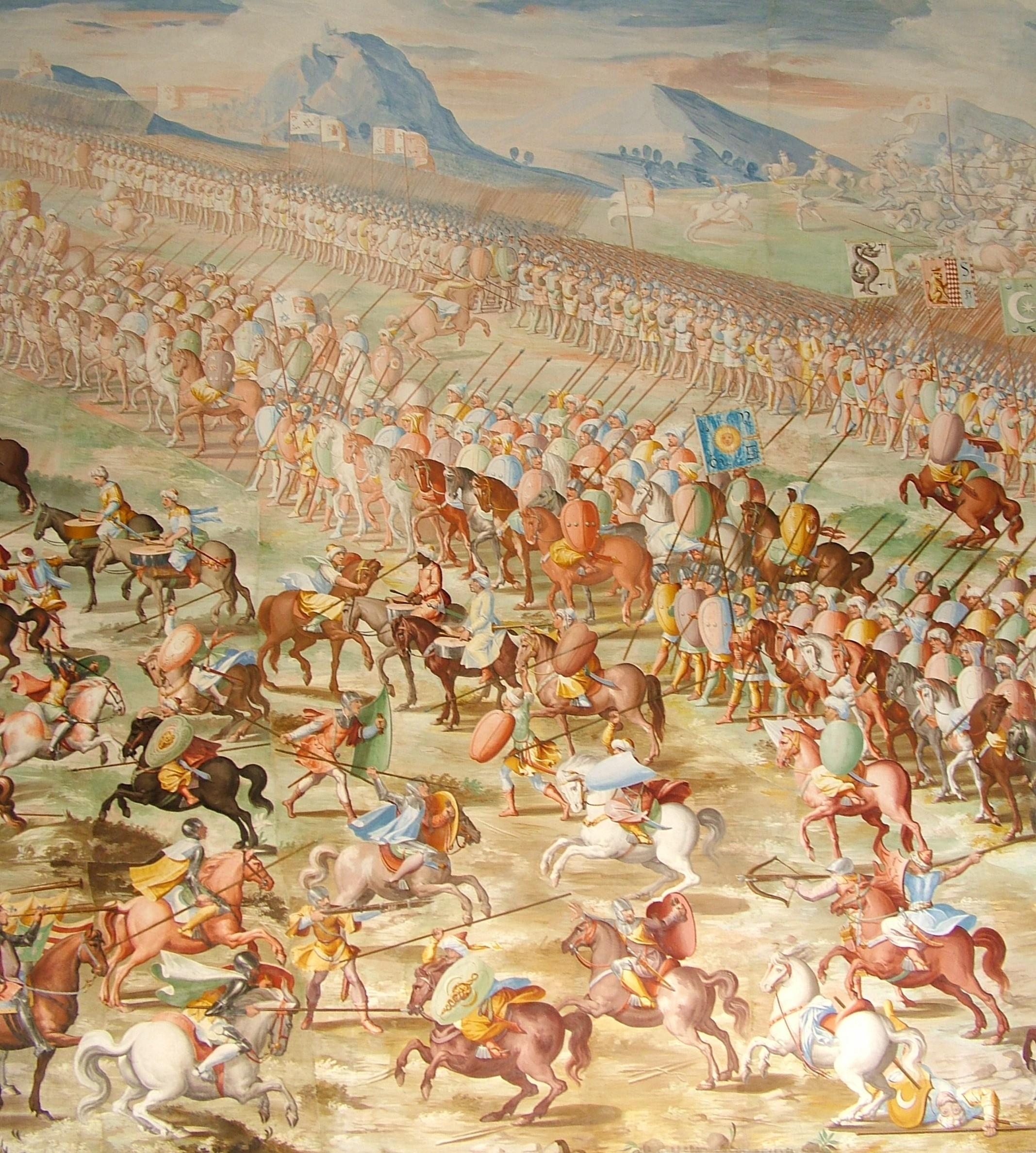 Forces of Muhammed IX, Nasrid Sultan of Granada, at the Battle of Higueruela 1431.