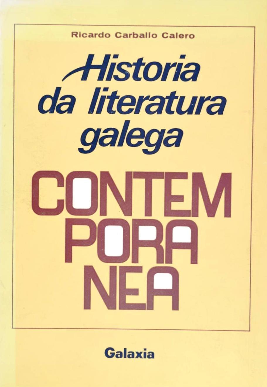 Historia da literatura galega contemporánea - Wikipedia, a ...