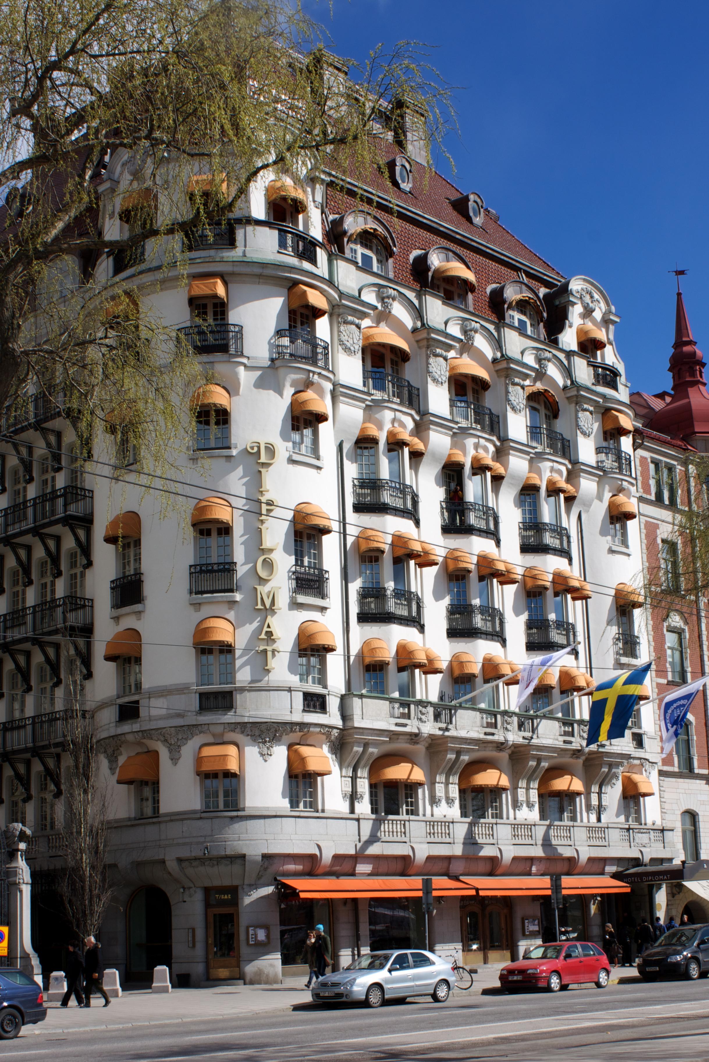 Hotel Diplomat Stockholm Restaurant