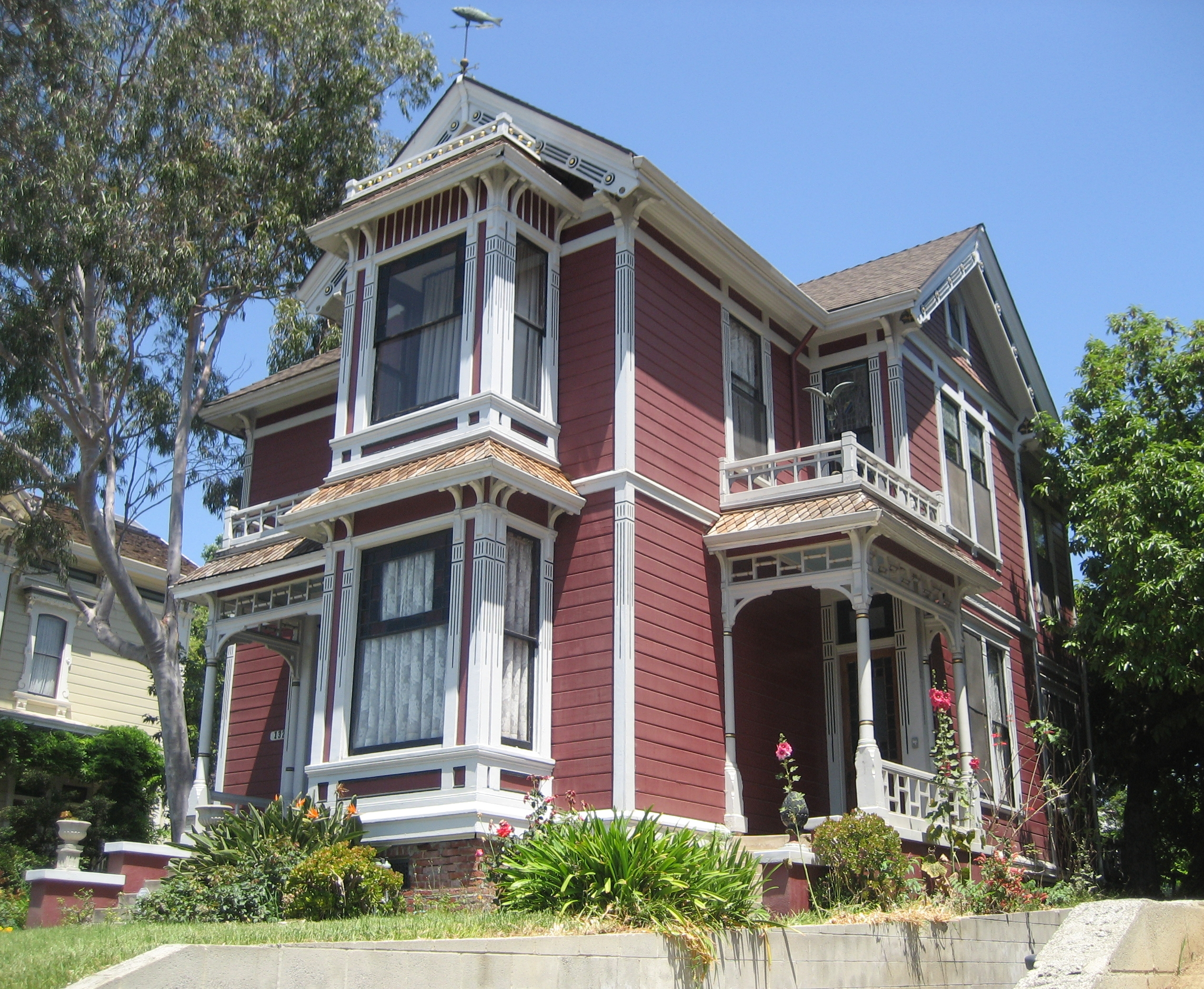 House Tv Series File House At 1329 Carroll Ave Los Angeles Charmed