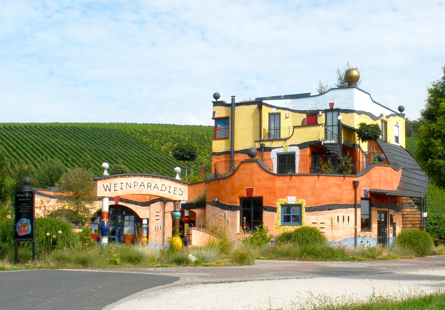 Hundertwasser on pinterest for Architecture hundertwasser