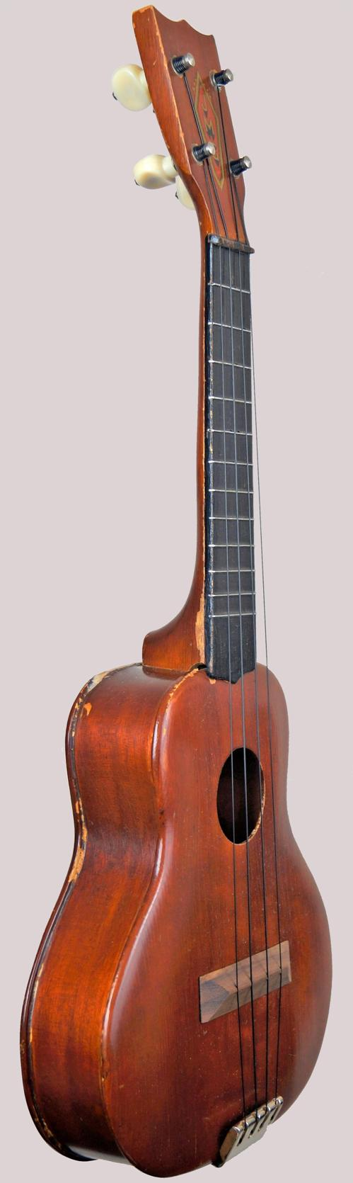 violin style archtop ukulele