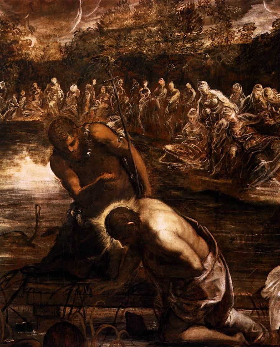 file jacopo tintoretto the baptism of christ detail wga22553