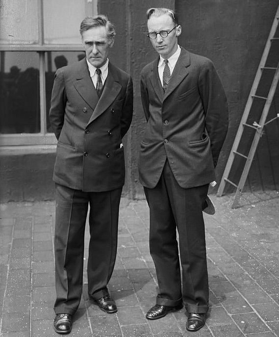 John R. Neal, Jr. & John T. Scopes, at Scopes Trial,1925