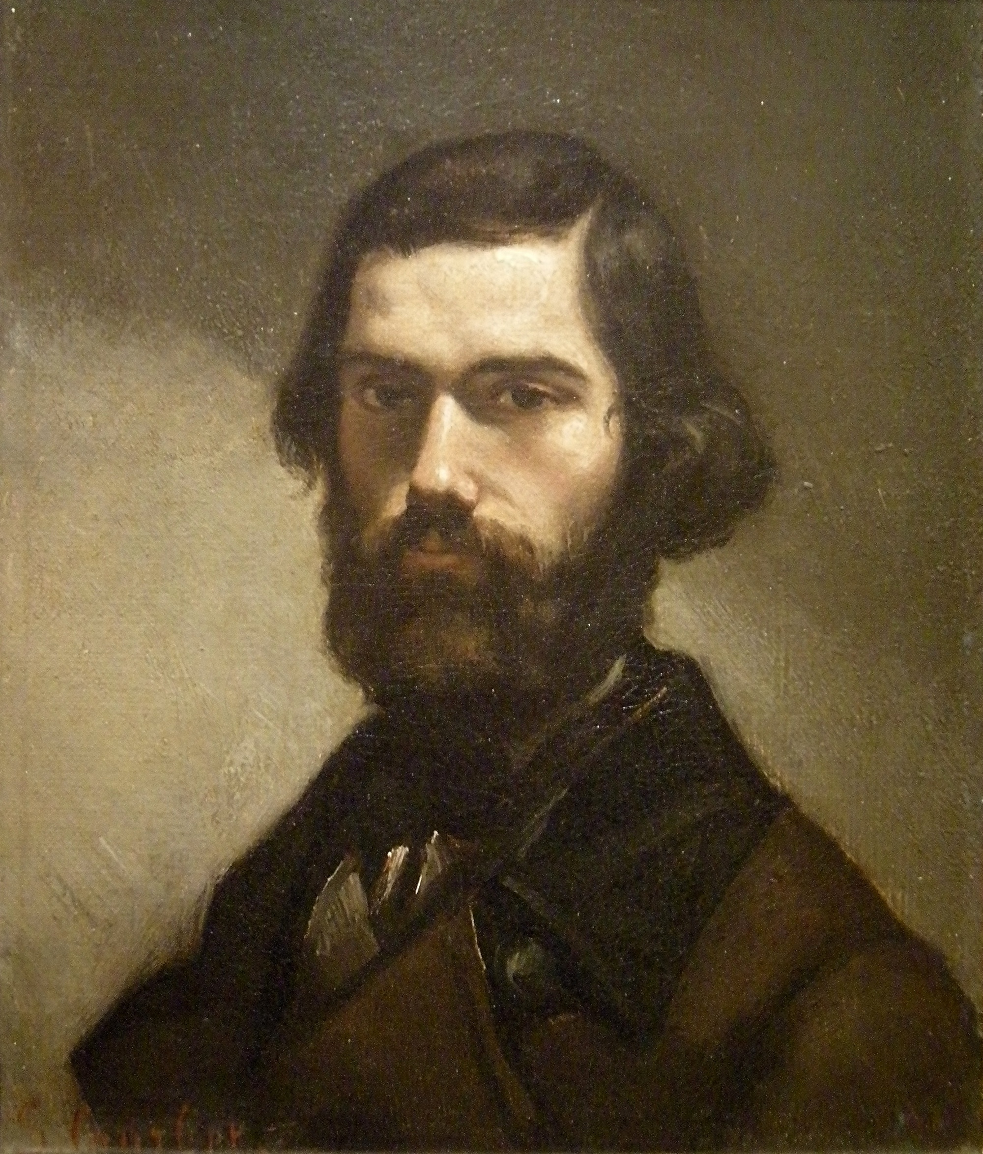 Jules Vallès by [[Gustave Courbet]]