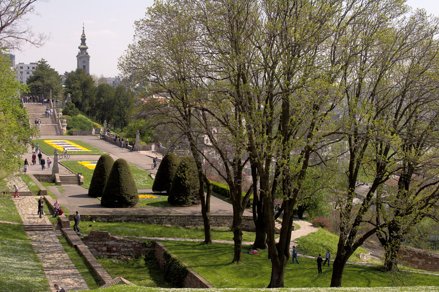Beograd u slici Kalemegdan_park_1