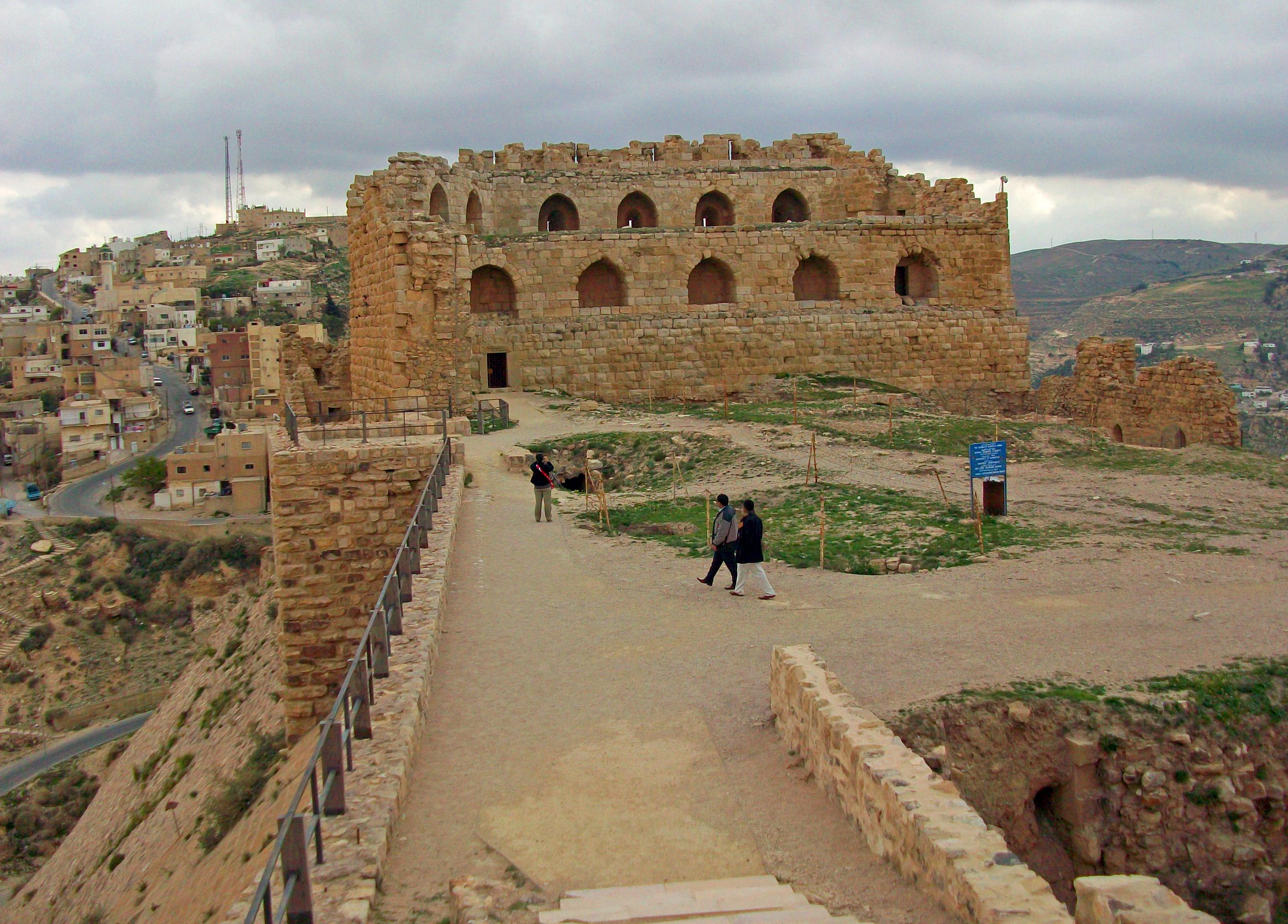 Karak Jordan  city pictures gallery : Description Karak Castle and al Karak, Jordan