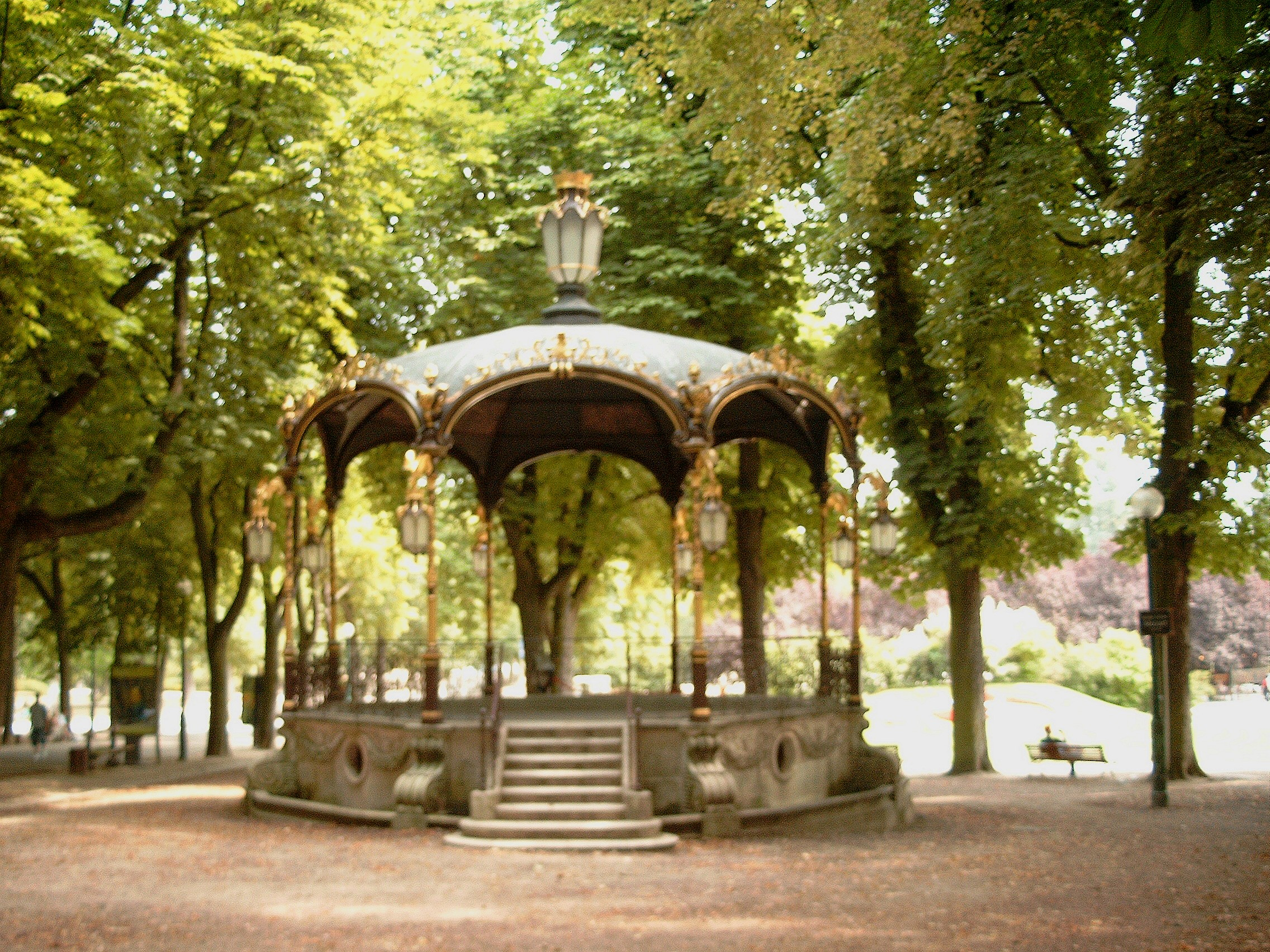 Image gallery kiosque for Jardin wiktionnaire