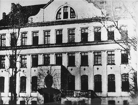 «Дом сирот» на улице Крохмальной