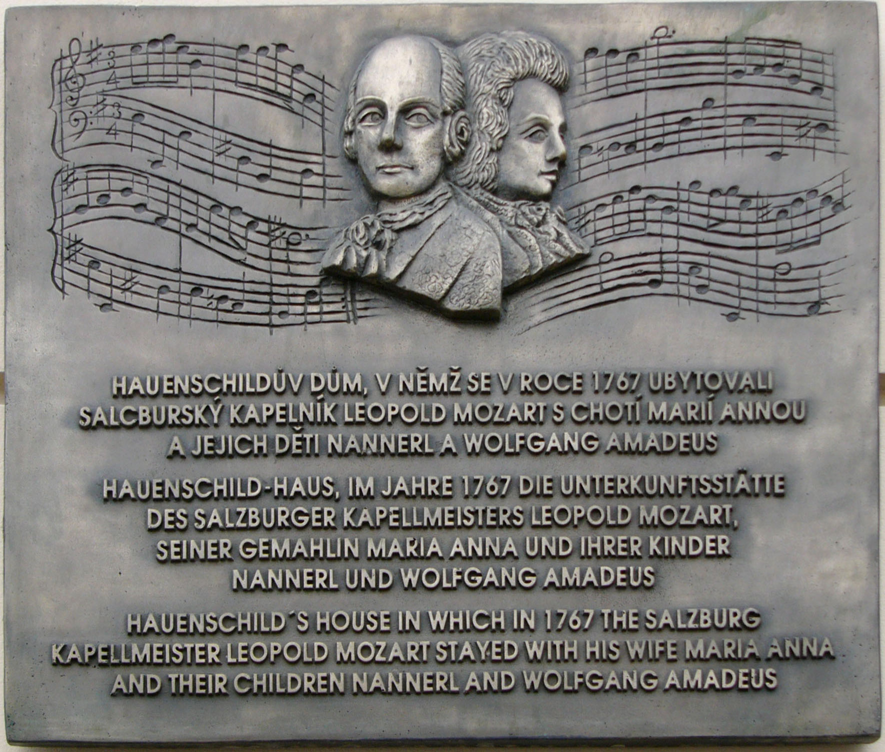 File Leopold Mozart And Wolgang Amadeus Mozart Plaque
