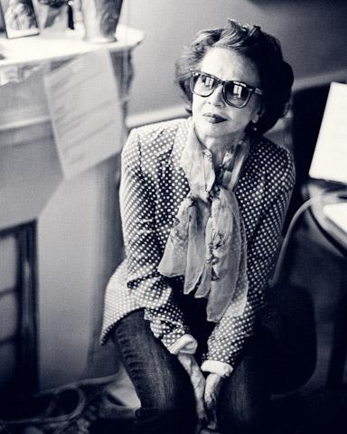 Leslie Caron en lunettes de soleil | Photo : Wikimedia.