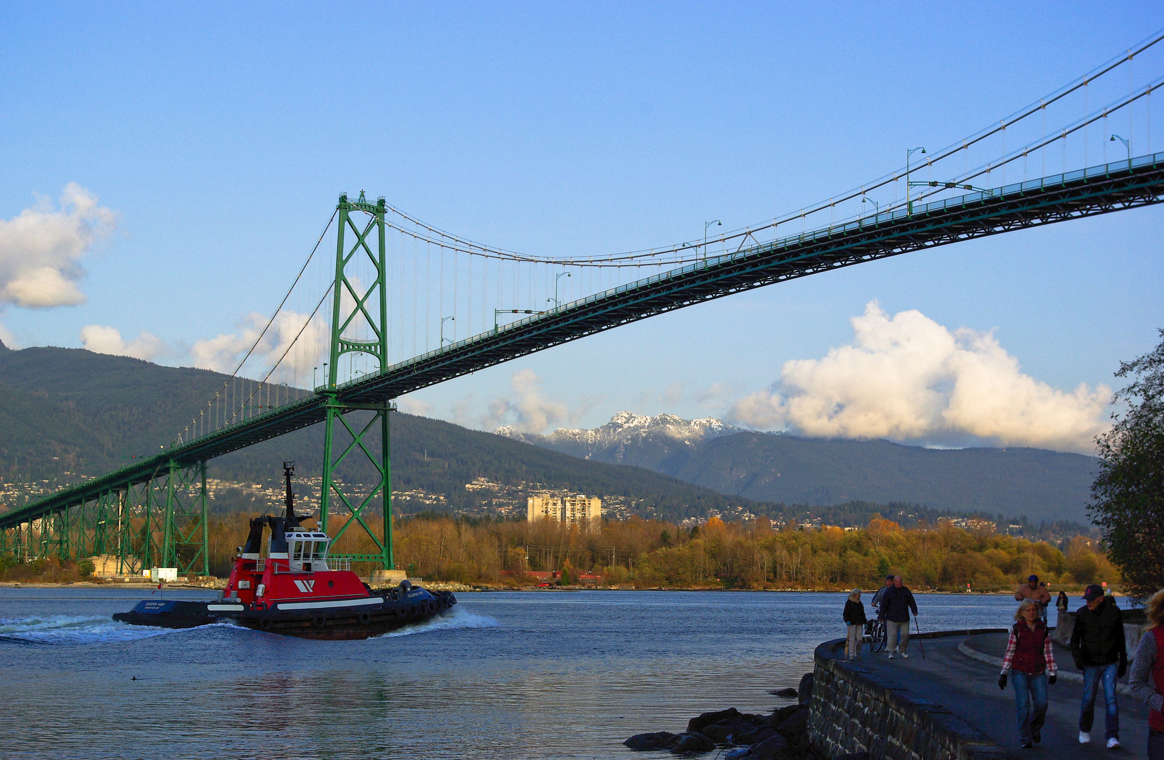 Lion's Gate Bridge, Vancouver, British Columbia, Canada