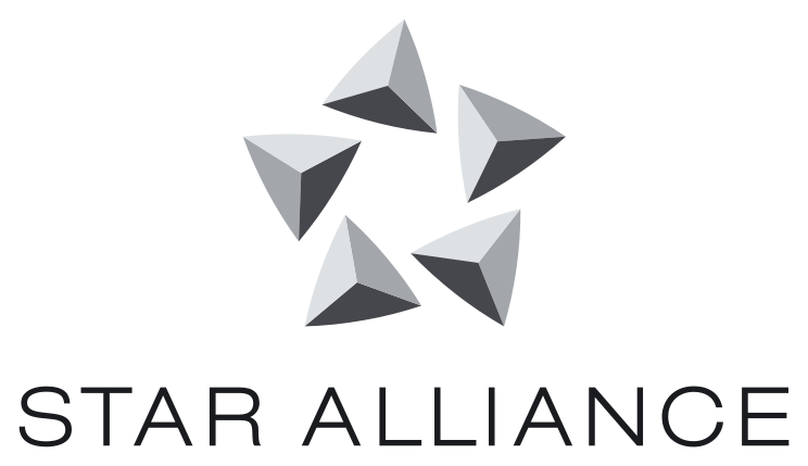 Airline Logos With Stars The First Star Alliance Logo
