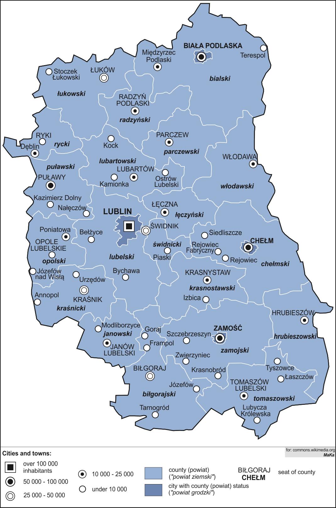 Holendry, Lublin Voivodeship