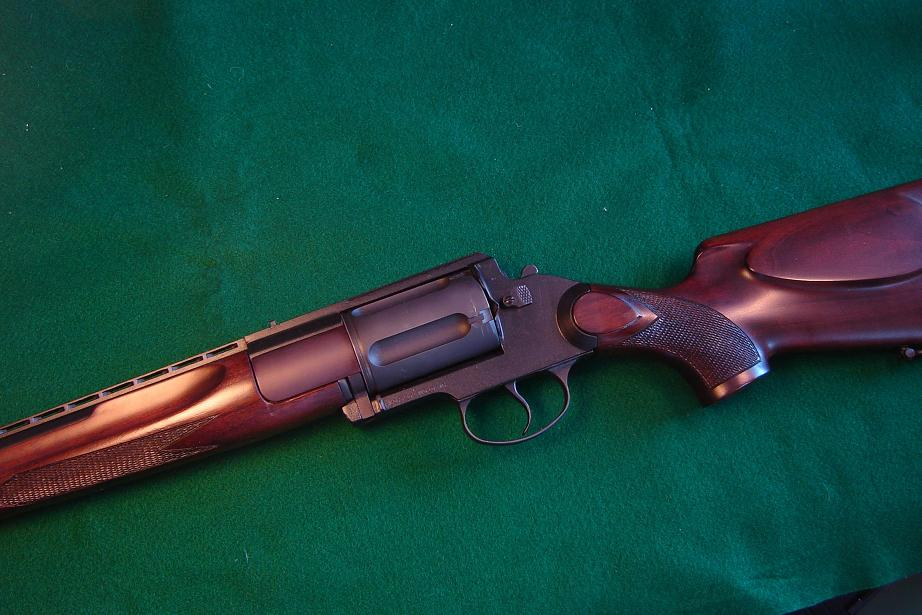 Question on the revolver that's also a carbine shotgun? - Survival & Sustenance Living Forum
