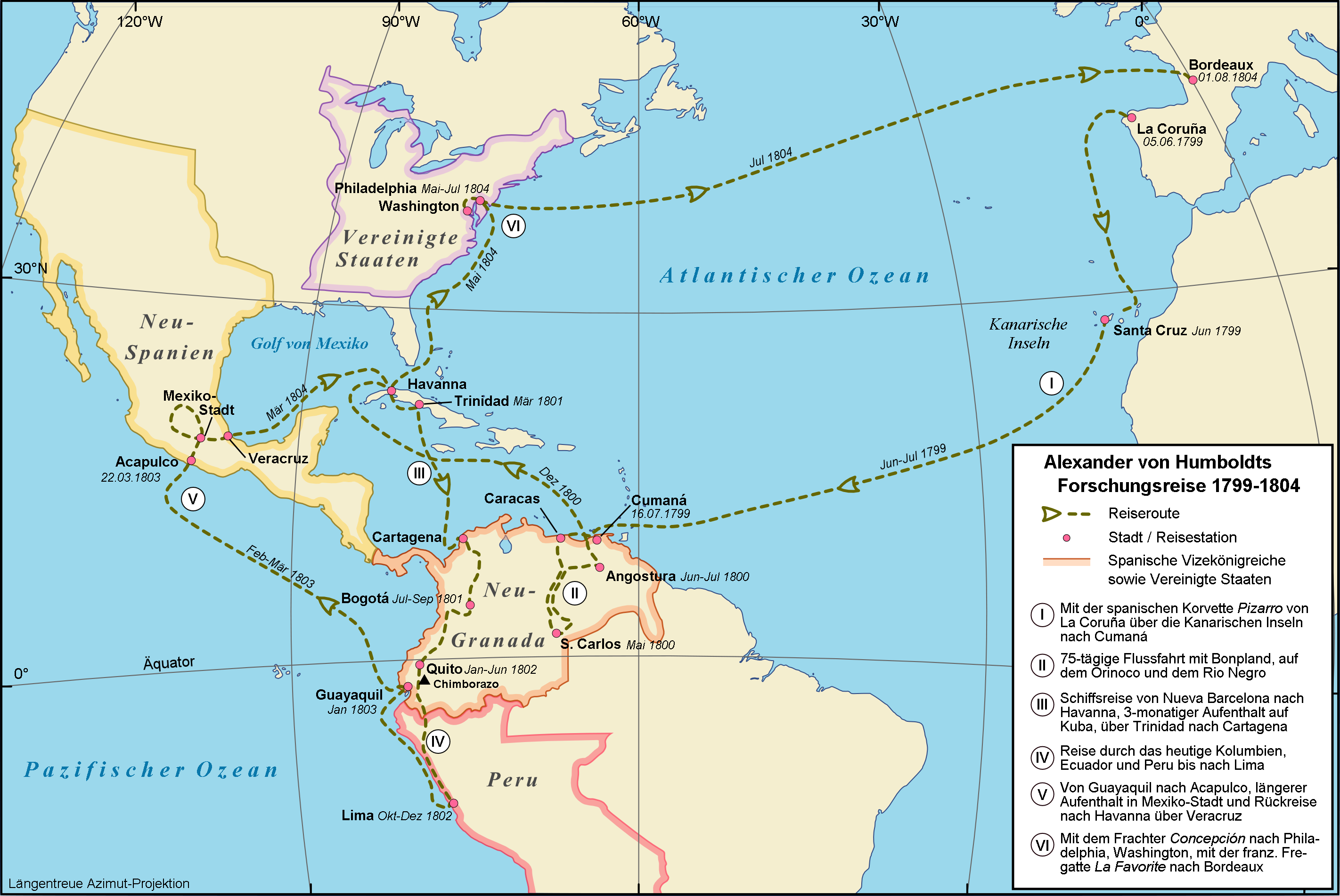 File:Map Alexander von Humboldt expedition-de.png - Wikimedia Commons