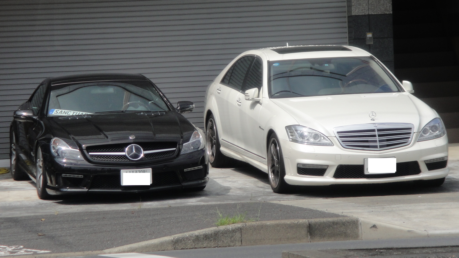 File Mercedes Benz Sl65 Amg And S65 Amg Long Jpg