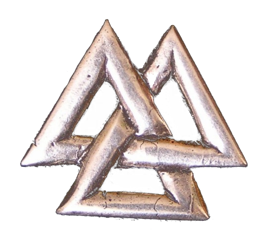 Bestand:Metallic Valknut white background.PNG