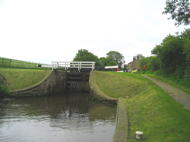 Middle of the Bank Newton Locks System - geograph.org.uk - 491679