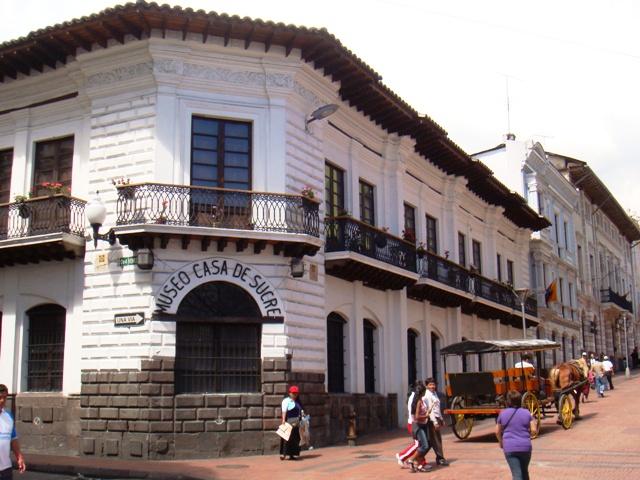 Museo casa de sucre wikipedia la enciclopedia libre - Casas en quito ecuador ...