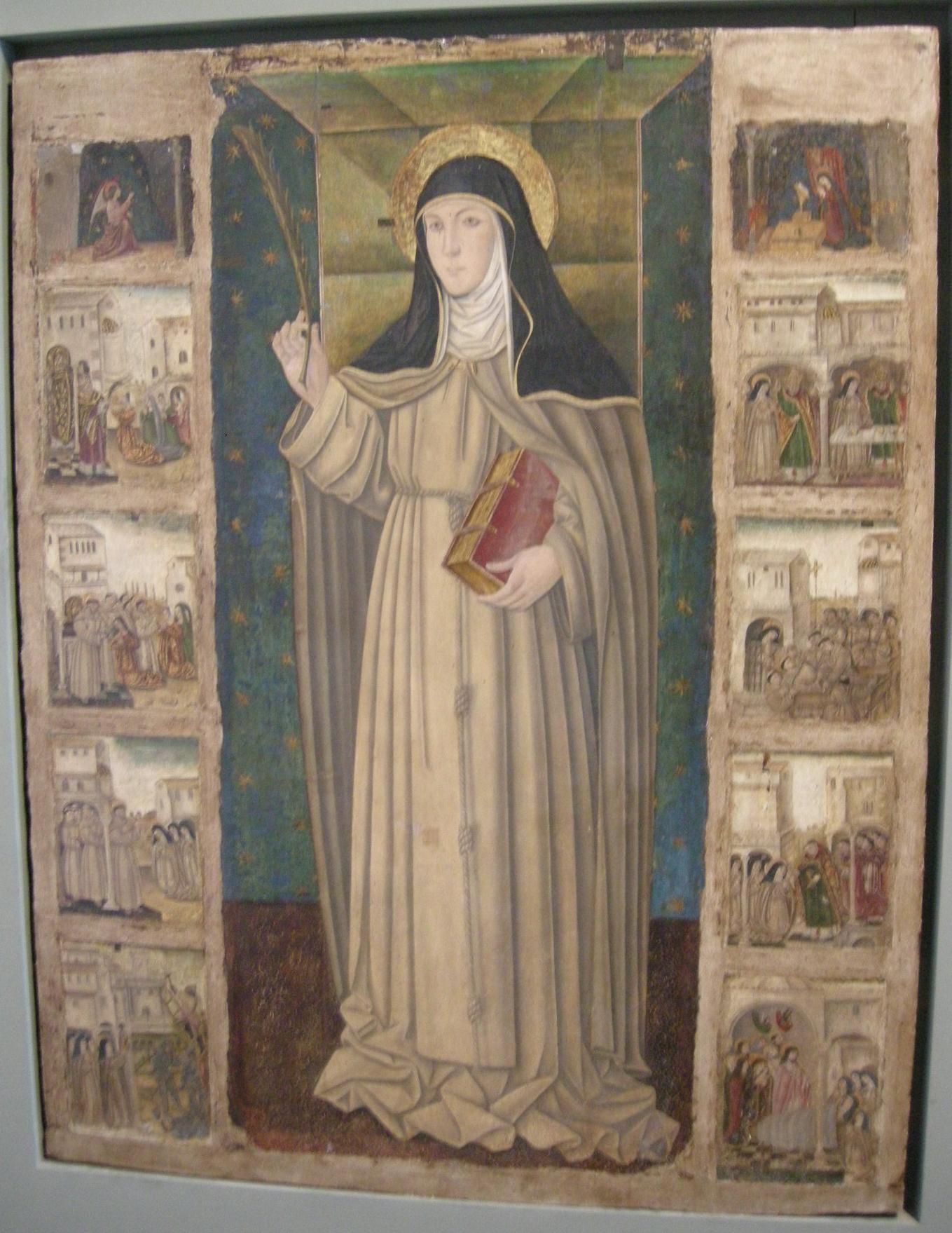 File:Museo regionale di messina, giovannello da italia, santa ...