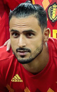 The 29-year old son of father (?) and mother(?) Nacer Chadli in 2019 photo. Nacer Chadli earned a 3.5 million dollar salary - leaving the net worth at 5 million in 2019
