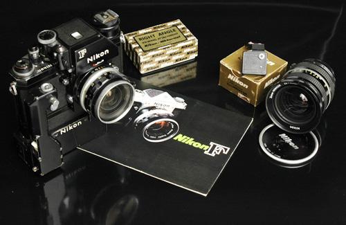 Aparat fotograficzny i sprzęt