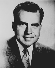 Nixon while serving in Congress