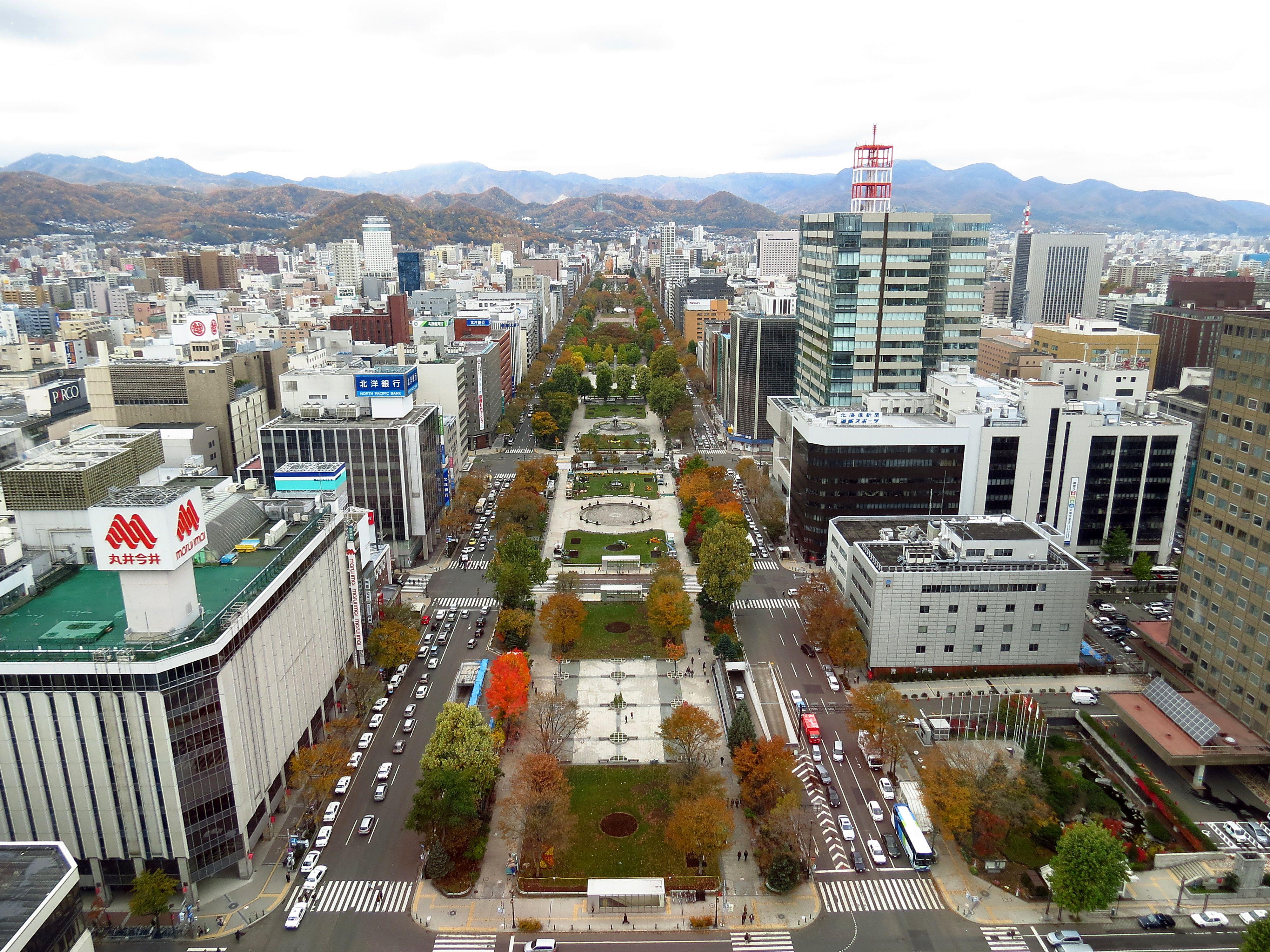 すすきの・札幌の観光スポット 大通公園