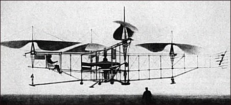 erster bemannter Quadrocopter Flug