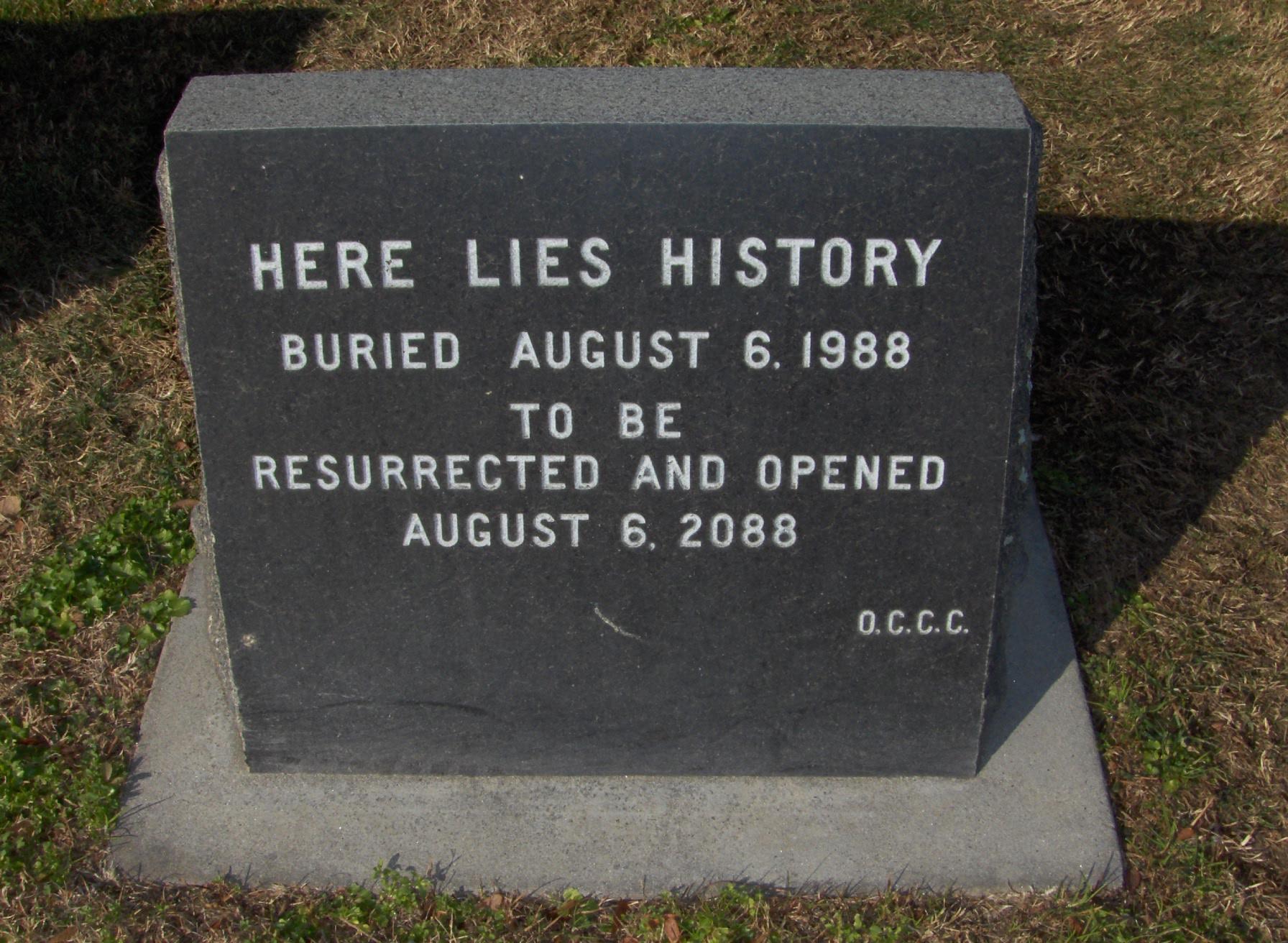 File:Old City Cemetery time capsule Sacramento,
