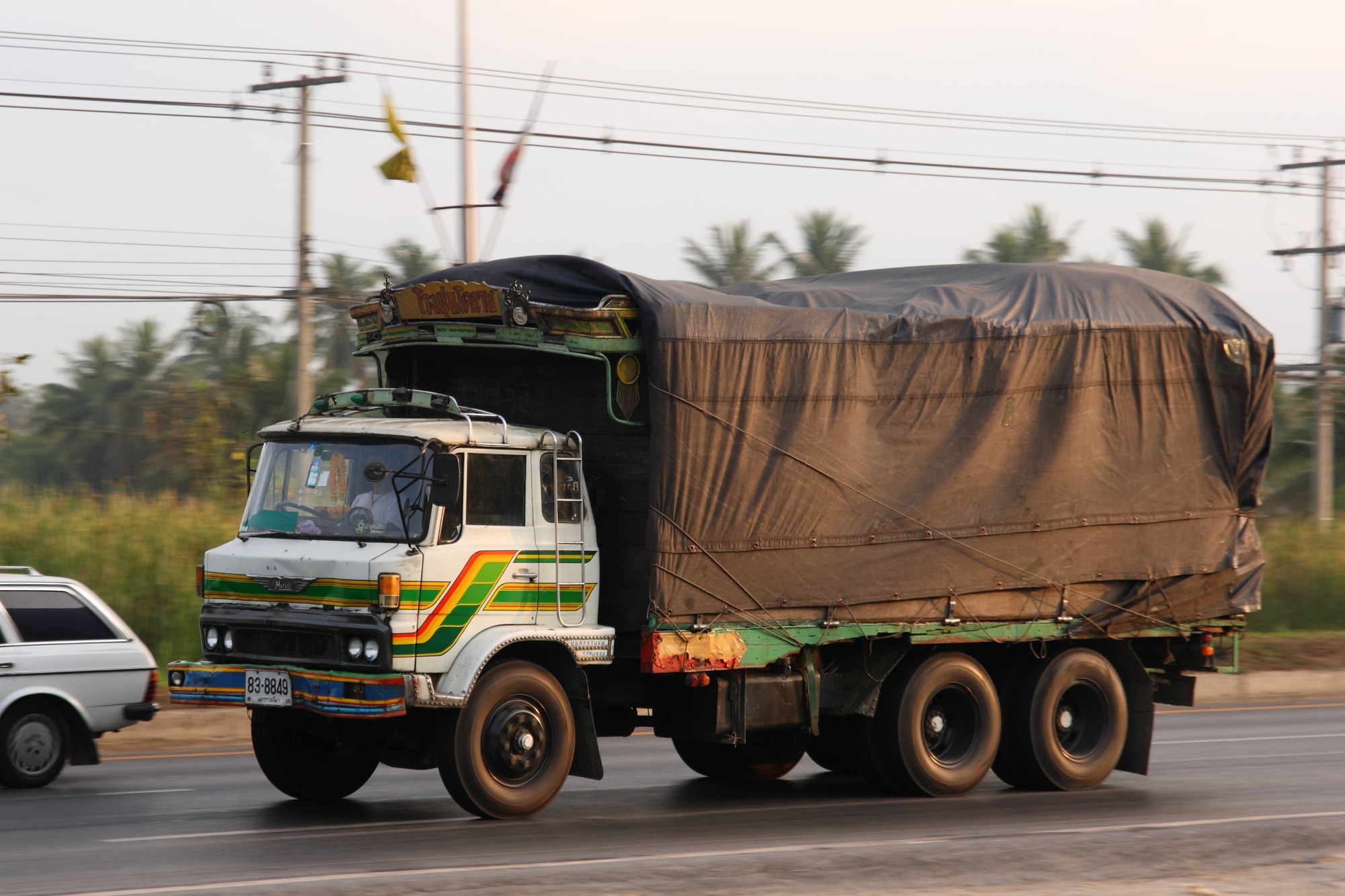 File:Old Hino truck in...