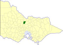 Shire of Huntly Local government area in Victoria, Australia