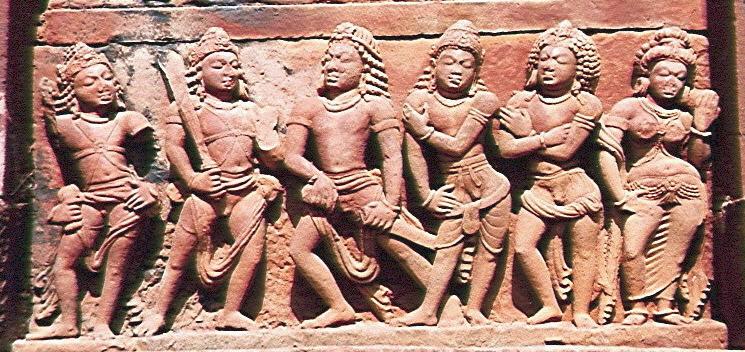 Zoe Tribe Children Draupadi with her five