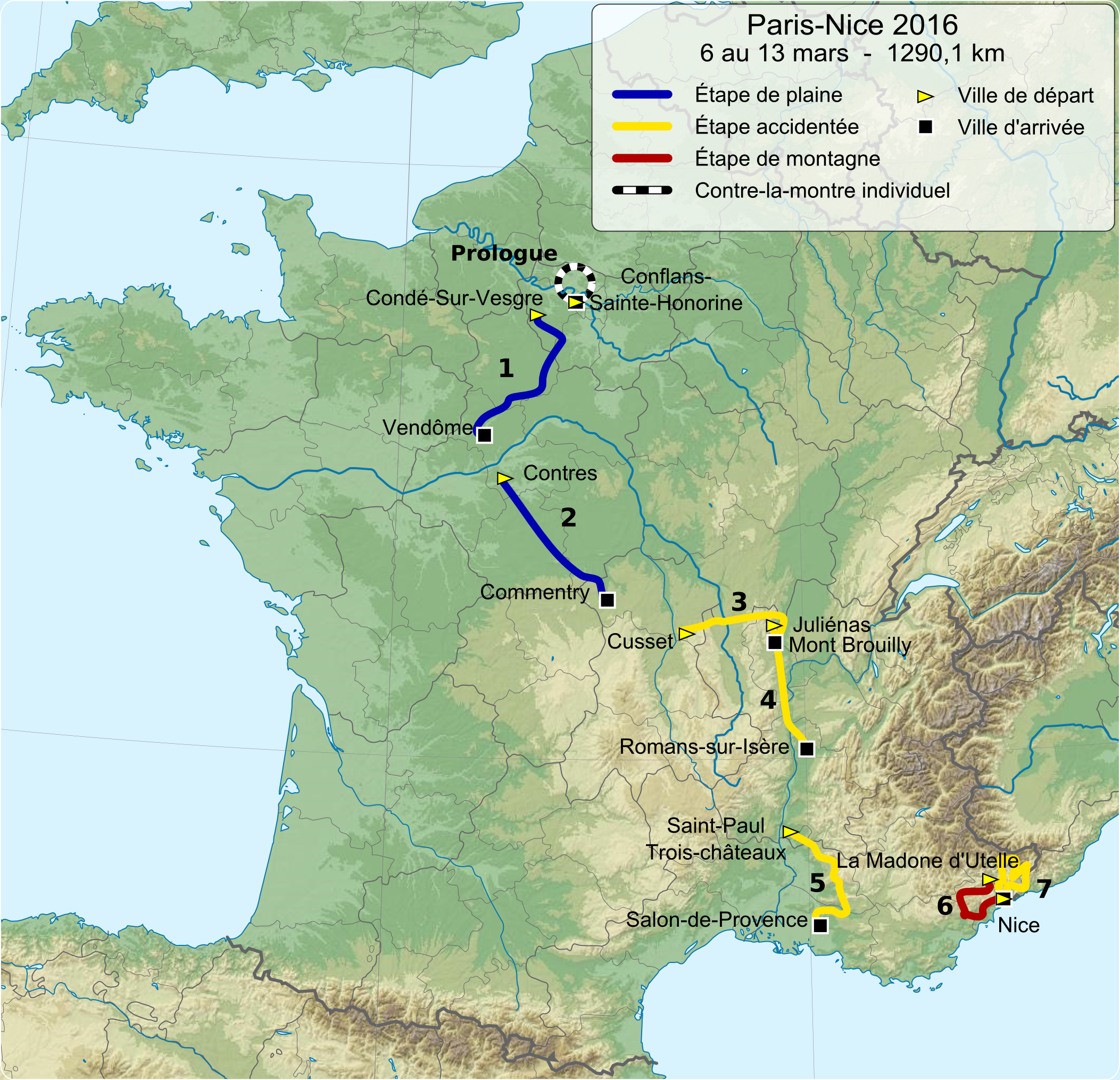 FileParisNice Overviewpng Wikimedia Commons - Paris map 2016