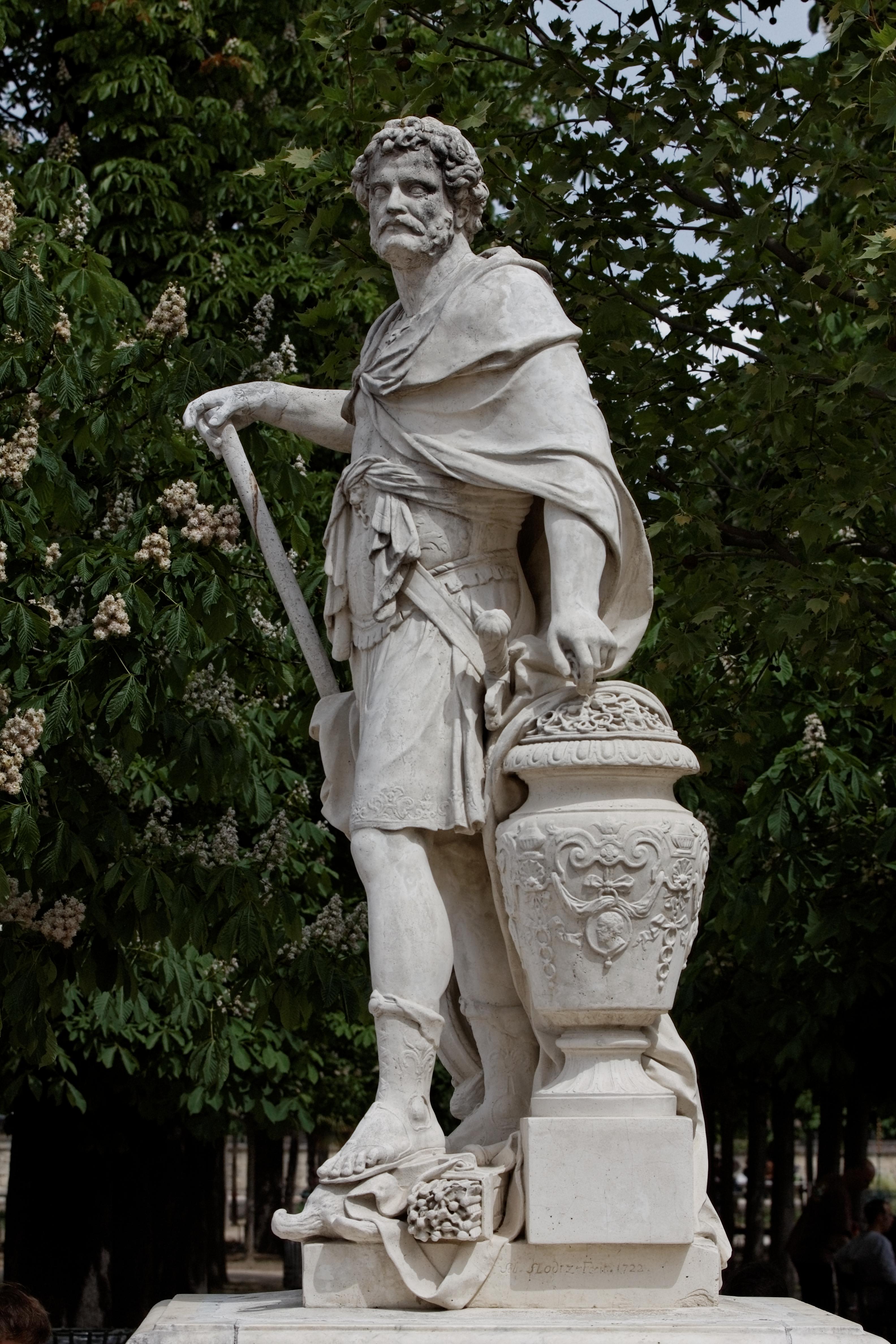File paris jardin des tuileries s bastien slodtz - Sculpture jardin des tuileries ...